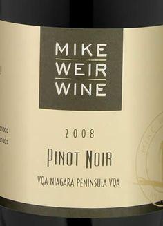 Mike Weir - 2008 Pinot Noir