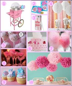 Party Monday: Cotton Candy · Edible Crafts | CraftGossip.com