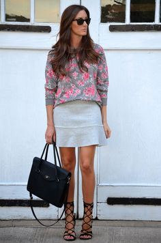 floral & flared