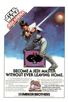 Star Wars: Jedi Arena. Atari 2600 game ad.