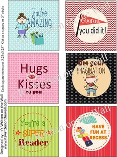 Lunchbox Love Notes   30 Notes!