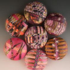 polymerclay, polym clayinspir, art blog, color, beads, rock, polymer clay, janic abarbanel, clay art