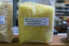 Natural Yellow Beeswax Beads 1lb Bag. $7.00, via Etsy.