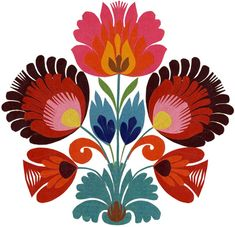 paper cut, color, cut paper art, polish pattern, polish paper art, art flowers, folk pattern, print, papercut