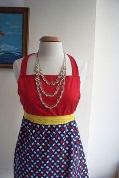 Wonder woman apron.