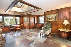 favorit hous, time capsule, houses, capsul hous, slate floor, design inspir
