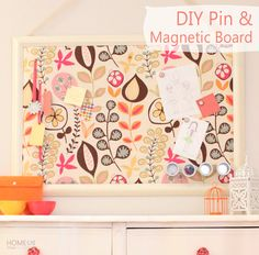 Home Made by Carmona: DIY Pin & Magnetic Board
