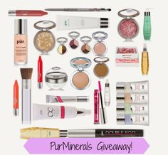 LOVE FOR LACQUER: ♥ HUGE PurMinerals GIVEAWAY!!!! ♥