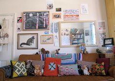 Sandra Dieckmann's couch