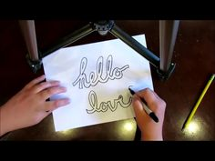 HOW TO DRAW BLOCK AND BUBBLE LETTERS in CURSIVE - by Mr. Otter Art Studio. Published on Jul 9, 2014 Everyone needs this simple art tool in their belt. Learn how to elegantly draw block and bubble letters in cursive, in this free art tutorial from Mr. Otter Art Studio.   SUBSCRIBE, and don't forget to find Mr. Otter Art Studio on FACEBOOK, here: https://www.facebook.com/otterstudio