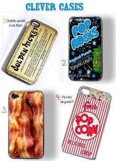 Very fun phone cases.