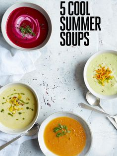5 cold soups to keep
