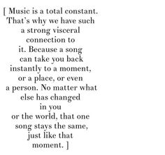 Truth about music