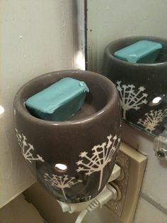 Clever!  How to make Vicks-esque Scentsy Bars or Shower Discs (for Cold & Flu Season)