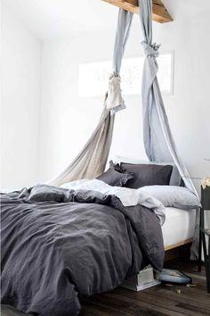 rideaux en lin   H&M