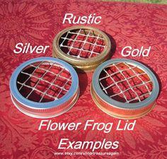 Flower Frog Lids