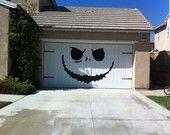 holiday, halloween decorations, christmas style, garages, garage doors