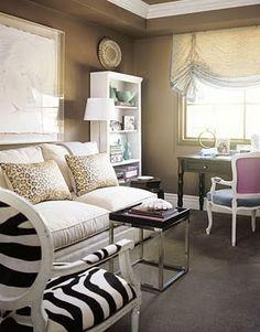potential guest bedroom look?