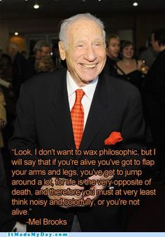 mel brooks quotes, peopl, inspirational quotes, music video