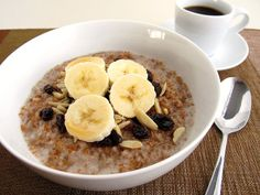 Bulgur Breakfast Cereal with Dried Fruit and Nuts