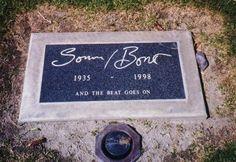Grave Marker- Sonny Bono
