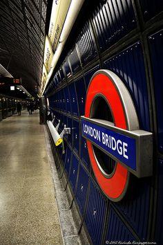 London Bridge Tube Station - stop for Borough Market