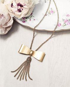 Tie Tassle Necklace