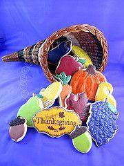 Thanksgiving Bounty Cornucopia.