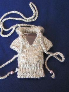 Hand Knit iPhone Droid iPhone Droid iPod Touch by MagicalStrings, $19.00