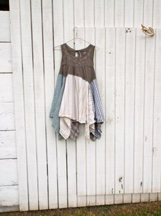 Idea... romantic upcycled dress