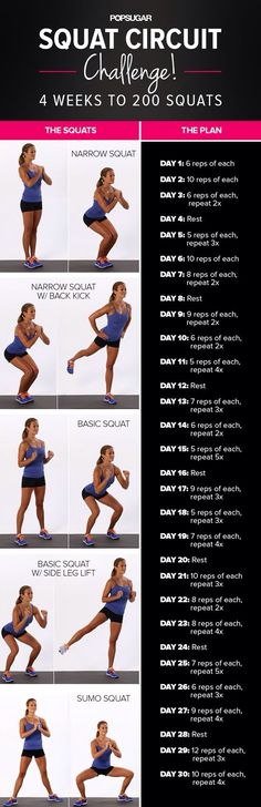 fit, bodi, squat challenge, squats, exercis, workout idea, ur health, motiv