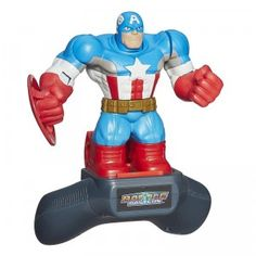 Marvel Battle Masters are different characters like Captain America with blocky looks and prize-fighter titles.