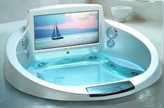 Jacuzzi Entertainment System With TV