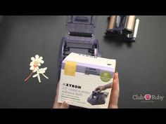 ▶ How to Use the Xyron Sticker Maker - YouTube