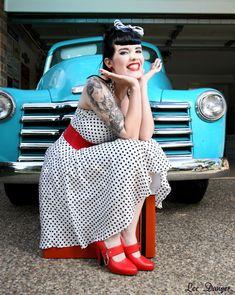 famous pin up rockabilly girls | amanda hartley, beautiful, girl, pin up, rock - inspiring picture on ...