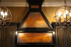 Incredible range hood with our Metallic Paint Collection | Project by Broads with Brushes
