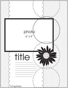 May PageMaps #1 - Scrapbook.com