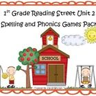 games, reading street, guid read, 12 game, phonic pattern, read street, street game, street basal, pack includ