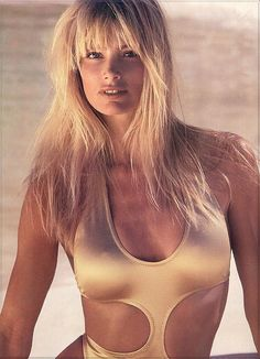 Another favorite model....Kelly Emberg.