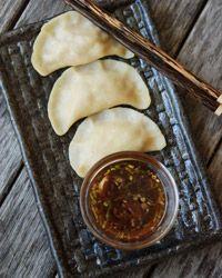 Boiled Chinese Dumplings // More of Andrew Zimmern's Adventures: http://www.foodandwine.com/andrew-zimmern