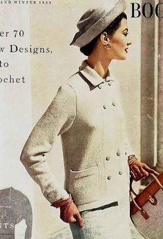 Vogue Knitting Book 1953. @designerwallace vintag, vogue, books, vogu knit, book 1953, knitting, boxes, 50s fashion, knit book