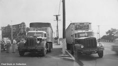 commerci truck, fort lee, vintag commerci, maislin brother, brother truck