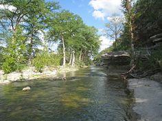 Blanco River, Wimberley, TX