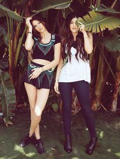 BTS style advice from the Jenner sisters!