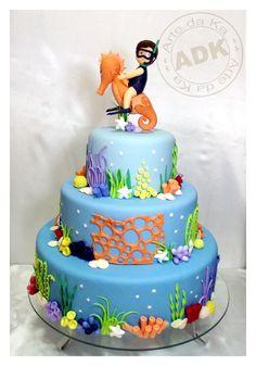 cake ocean sea party