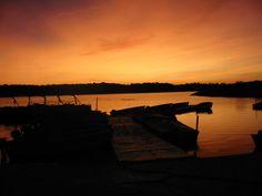 Sunset at Shabbona Lake