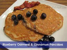 Best-Ever-Blueberry-Oatmeal-Cinnamon-Pancakes #YAYOATS#YAYOATS
