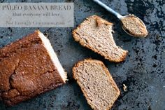 Paleo Banana Bread via @Not Enough Cinnamon // #banana #paleo #recipe