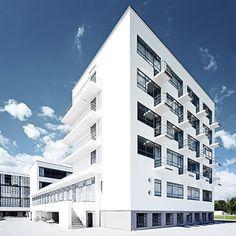 Bauhaus Student Building - Dessau, Germany (Walter Gropius) 1925
