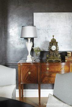 decor, wall colors, grey interiors, interior design, grey walls
